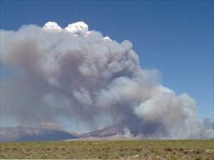 Clay Springs Fire near Oak City_8978634916262002773