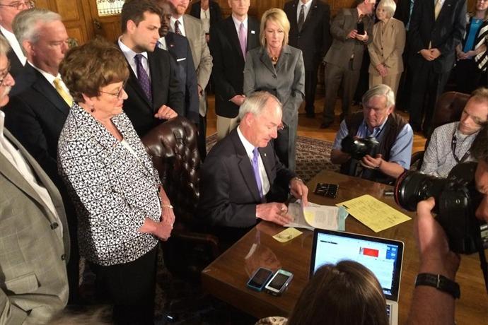 Governor Hutchinson Signs Workforce Bill_6008997646250036007