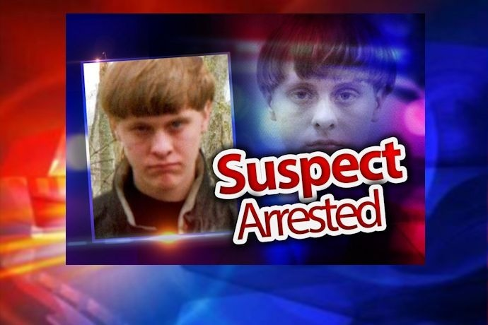Suspect Arrested -- Dylann Roof, SC Church Shooting_476109872666855109