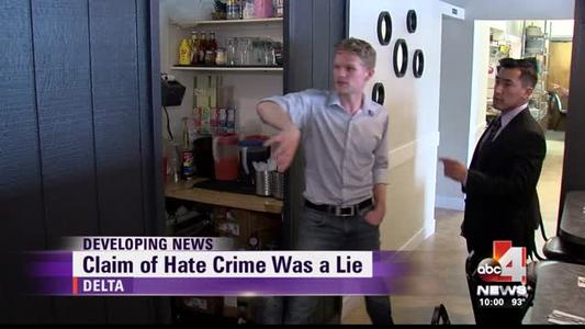 Claim of hate crime in Delta was a lie_2571951768722753403
