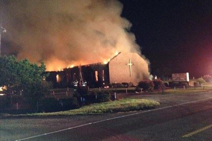Mt. Zion AME church fire_1501430412303878096