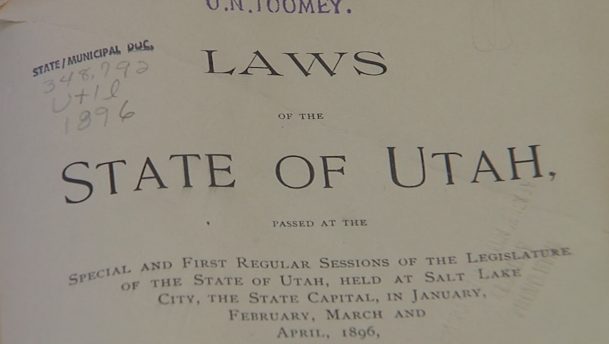 Laws of the State of Utah