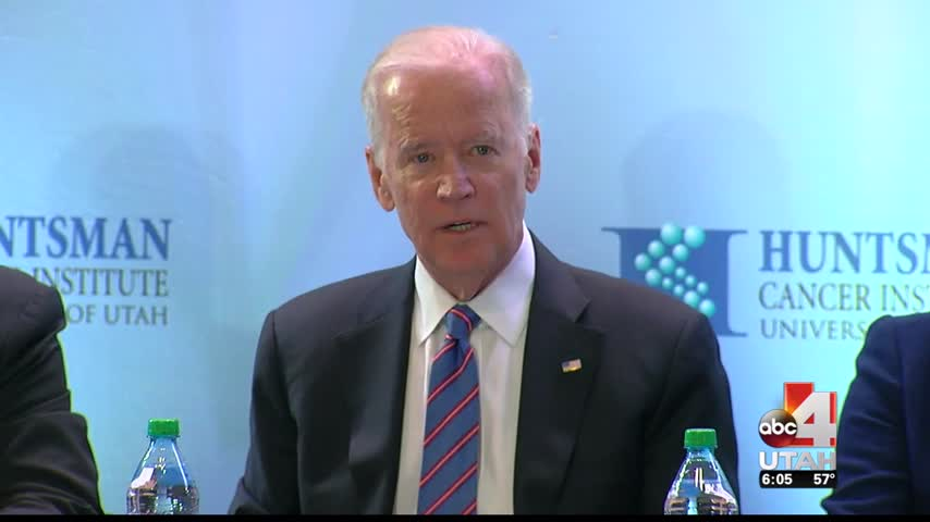 Biden emphasizes expanding Utah-s database to fight cancer_82250649-159532