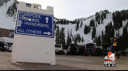 Alta Ski Carpool test