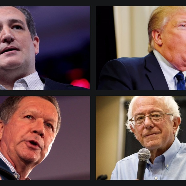 Cruz, Trump, Kasich & Sanders.jpg