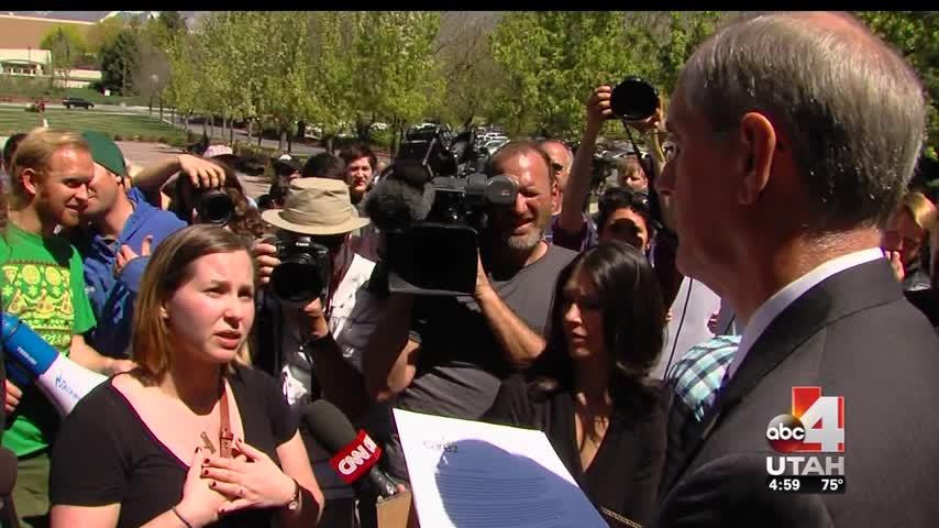 Sex assault victim advocates ask BYU to adjust honor code_20160420233006