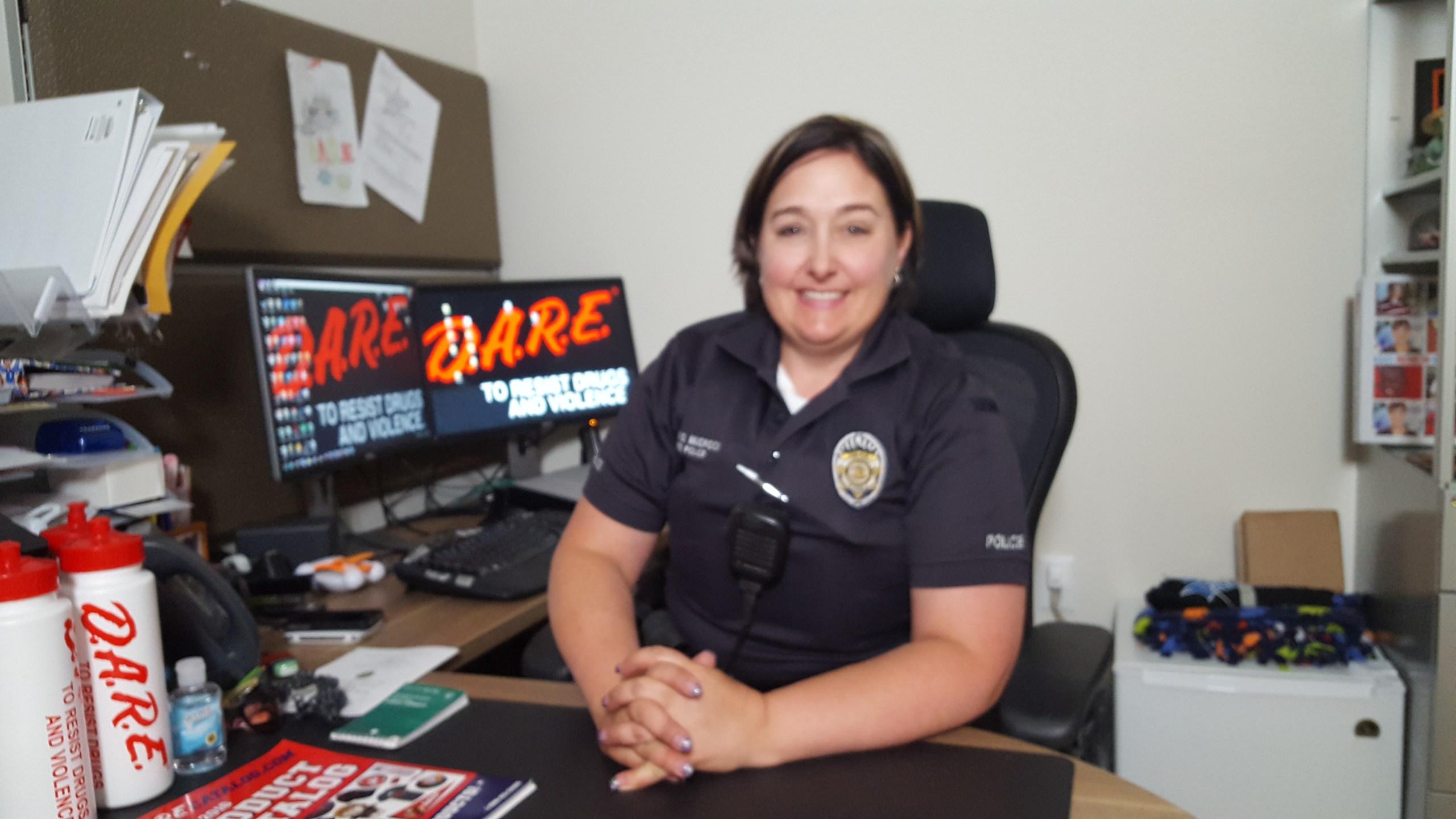 Behind the Badge - Officer Dana Mudrock - DARE 3_1466146836175.jpg