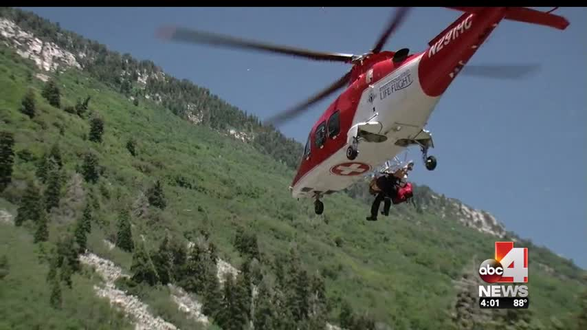 Hiker Injured in Little Cottonwood Canyon_58312404-159532