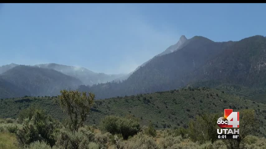 Saddle Fire Inches Away From Pine Valley- Evacuation Lifts_74016804-159532