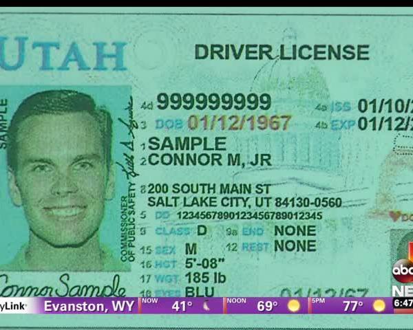 Utah Unveils New Driver License_42317168-159532