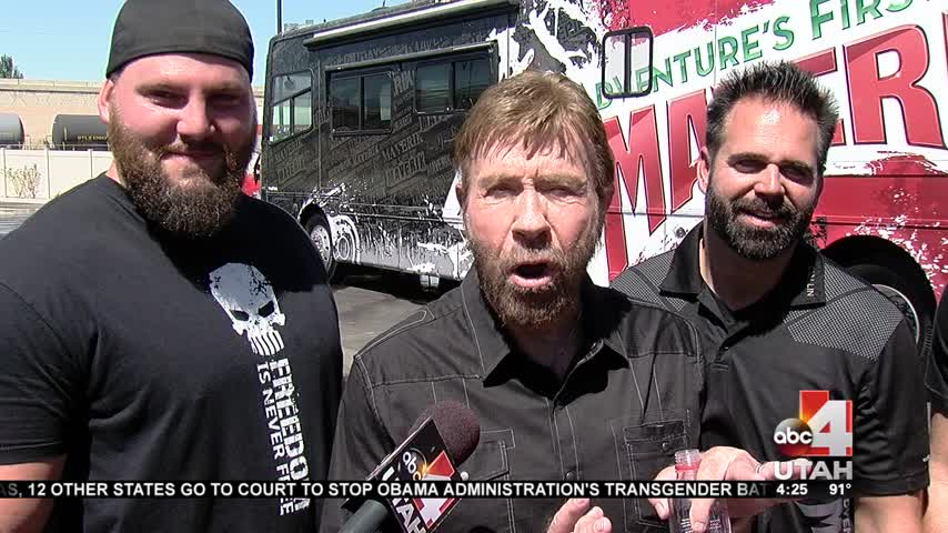Chuck Norris Makes Stop in SLC to Film Reality TV Show_60436921-159532