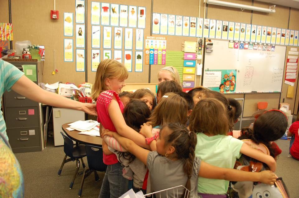 Alia Leonard Receives Hugs