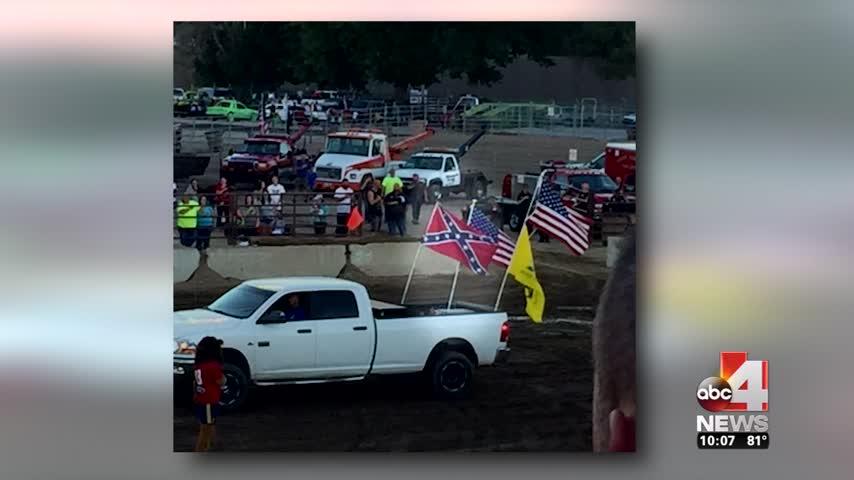 Confederate flag controversy at West Jordan demolition derby_40559785-159532