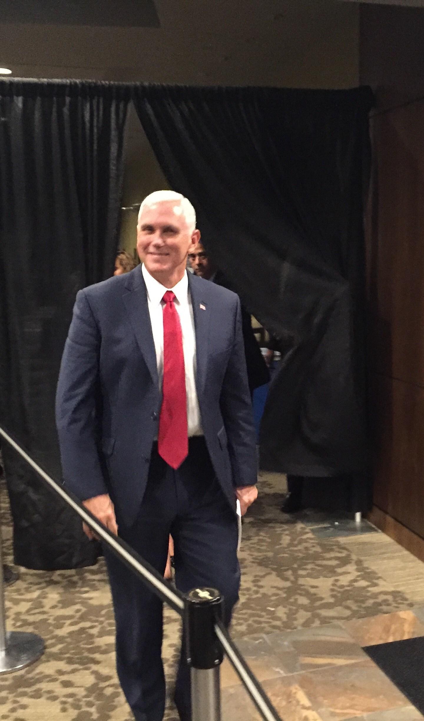 Mike Pence in Utah