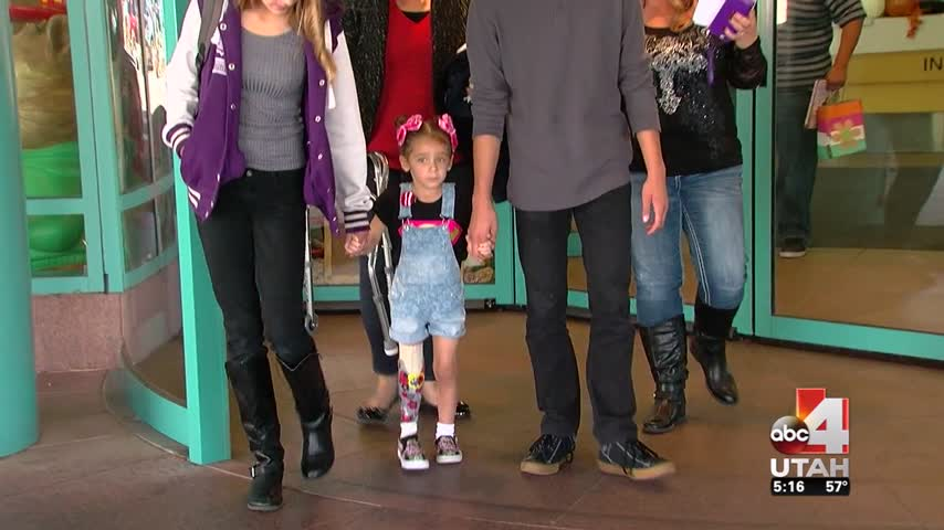 4-Year-Old Walks for First Time Since Lawn Mowing Accident_97616836-159532
