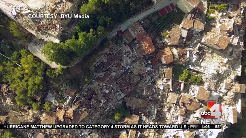 BYU professor's work with drones could save lives