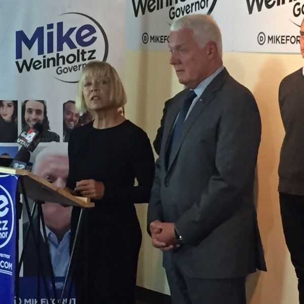 Donna and Mike Weinholtz