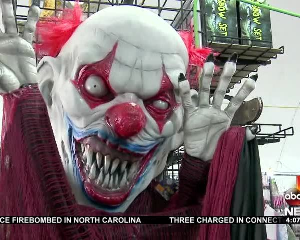 Target pulls clown masks from shelves due to creepy craze