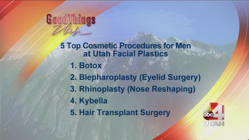 Top cosmetic procedures for men