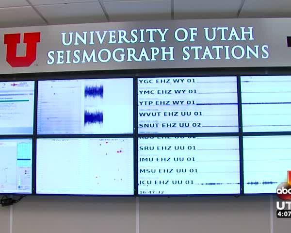 Did you feel a shake in Salt Lake County?