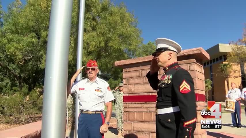 Dixie State Veterans Dedicate Memorial_63362123-159532