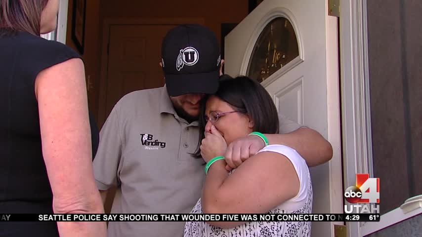 Group surprises West Jordan family with major home makeover