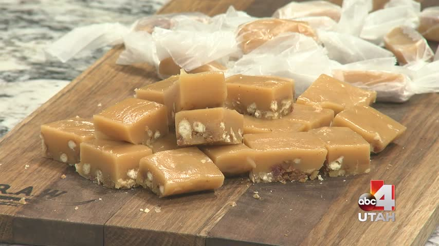 Bacon Crust Caramels
