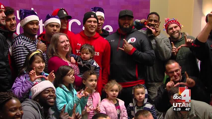 'Santa Brigade' stops by foster homes across Northern Utah