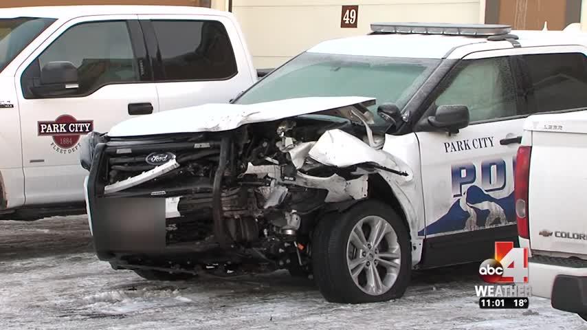dui hits patrol car