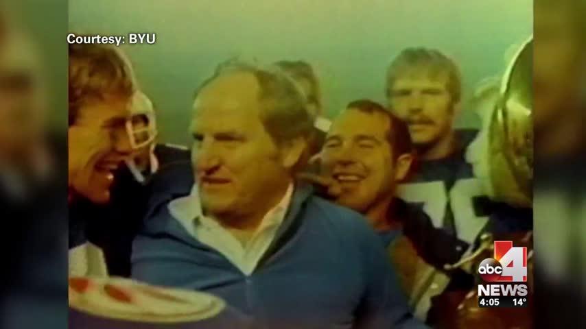 Utahns Gather to Say Goodbye to Coach LaVell Edwards_06588080