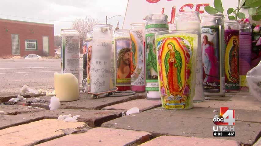 Students mourning, after losing 2 classmates in crash