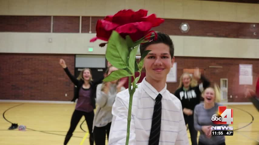 Alta High School student asks girl to prom on ABC 4 Midday