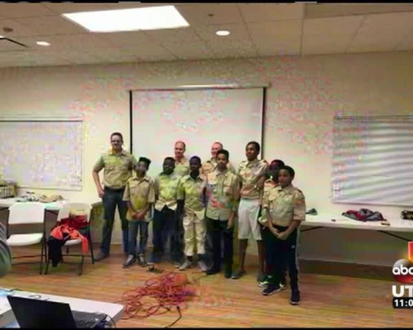 Community Makes Refugee Boy Scout Campout Possible Through D