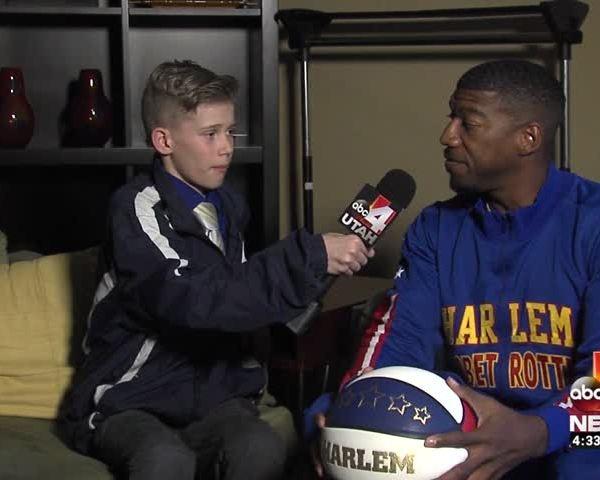 Good4Utah Jr- Reporter Interviews Harlem Globetrotter_02529619