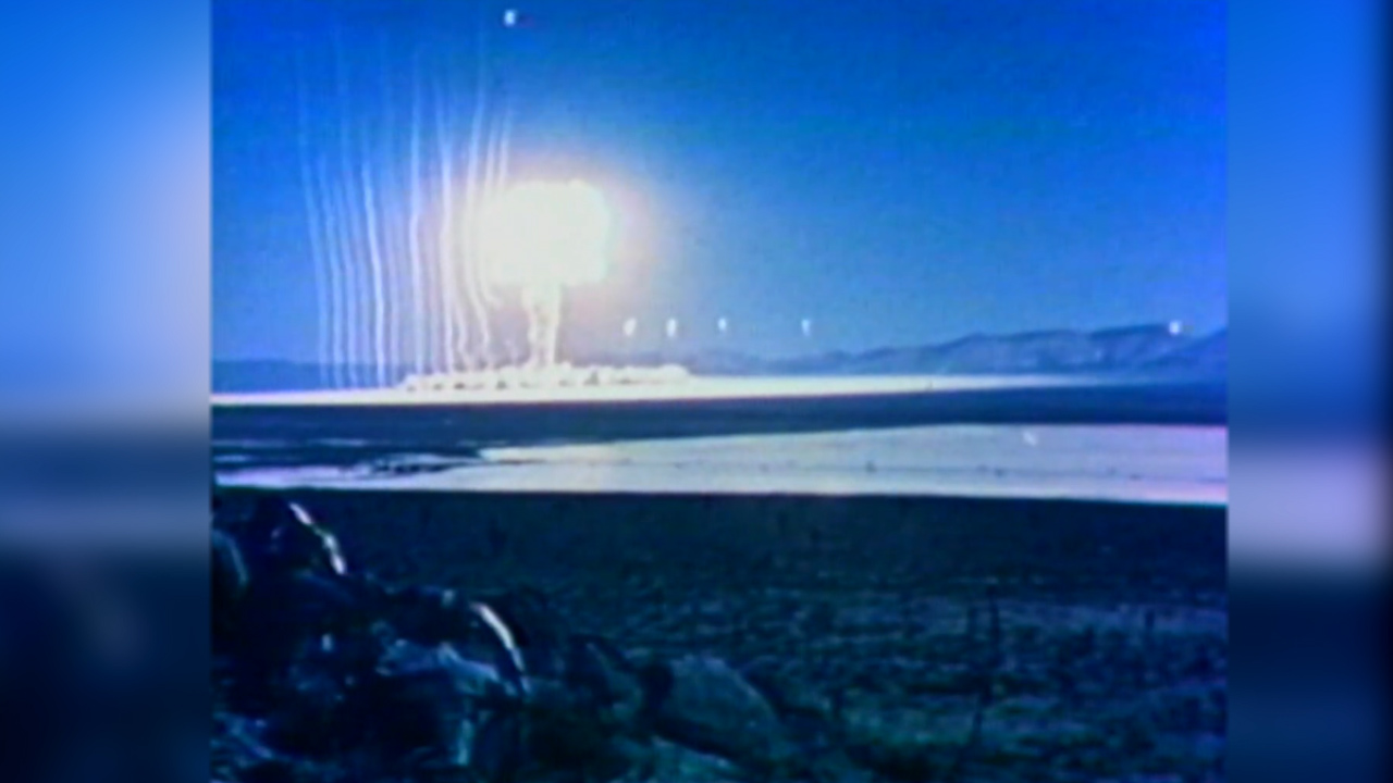 Nuclear test in Nevada