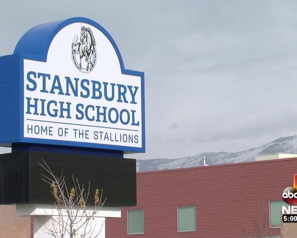 Stansbury High Student Caught With Gun on Campus_03768347