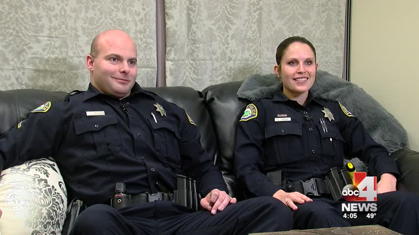 Provo officers deliver dinner to woman whose food was stolen
