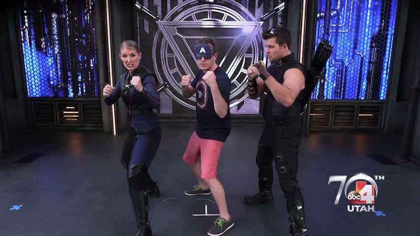 Disney Avengers Training