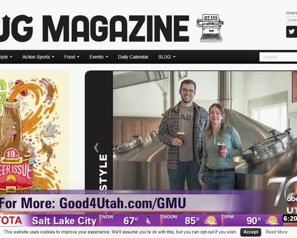 Celebrate local craft beer at Slug on Tap