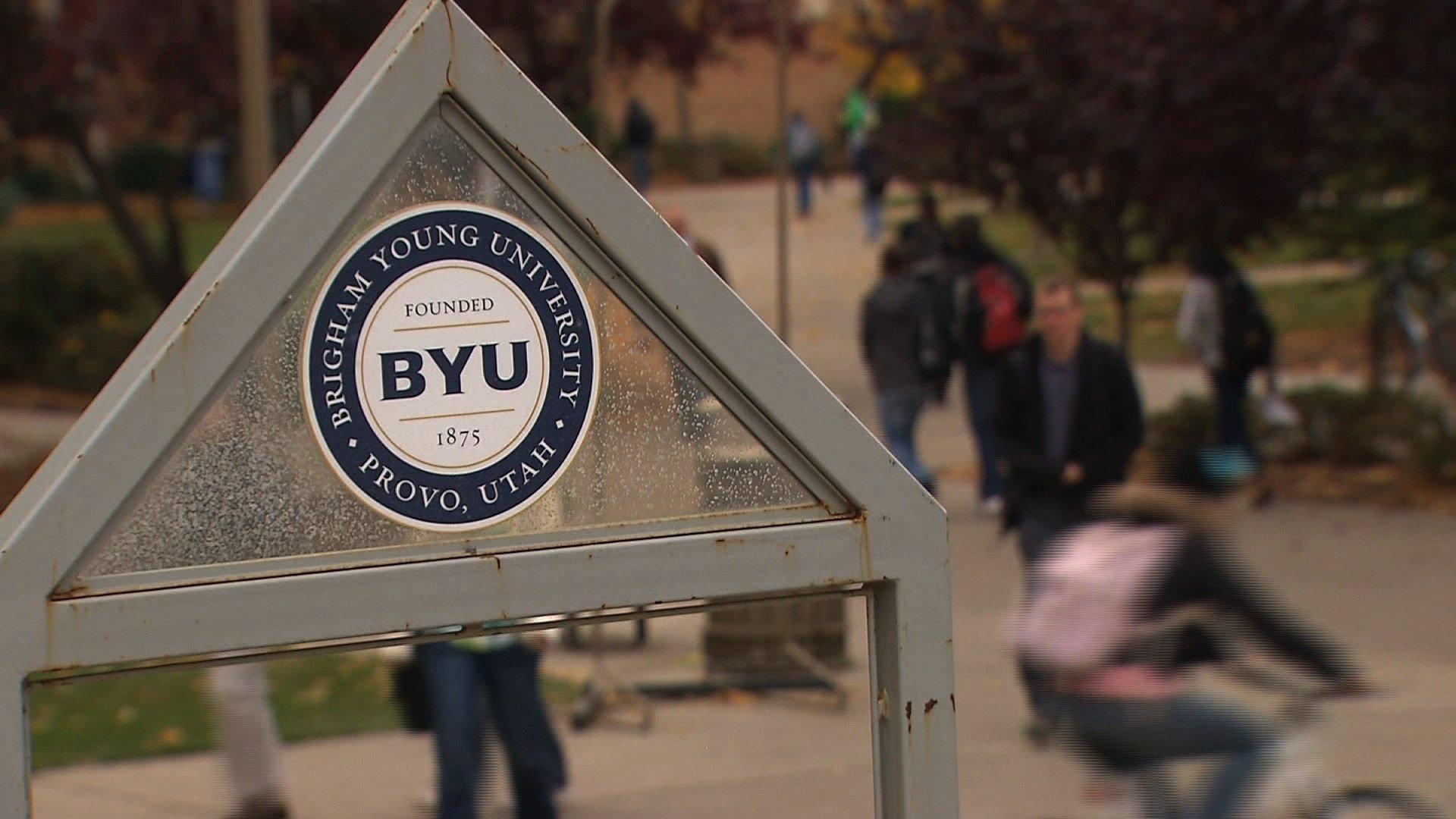BYU, Brigham Young University generic sign90140026-159532