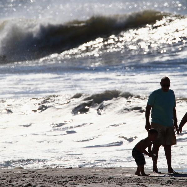 Family generic beach ocean water, Long Beach, New York84811033-159532