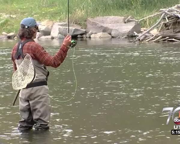 Fly fishing on Good4Utah Tour_13200148