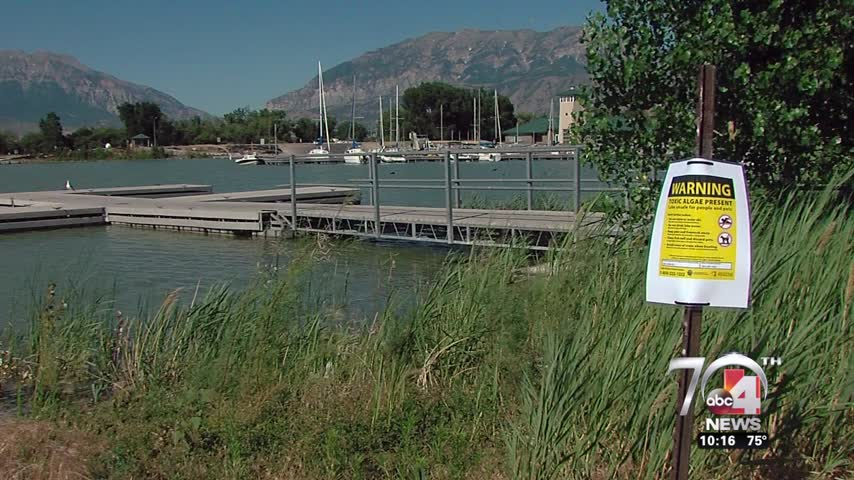 Officals warn people to stay out of Provo Bay_88242333