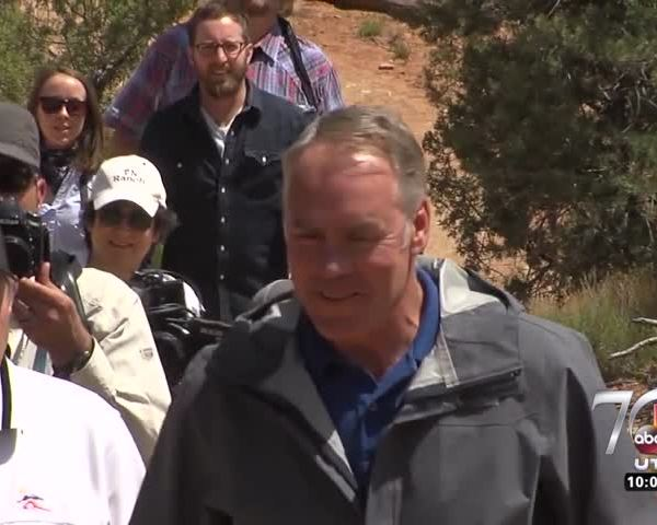 Secretary Zinke tours Bears Ears as part of review process_65196577