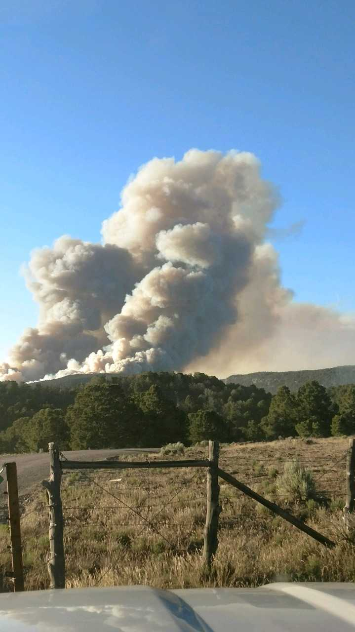 Two fires burn near Dixie National Forest