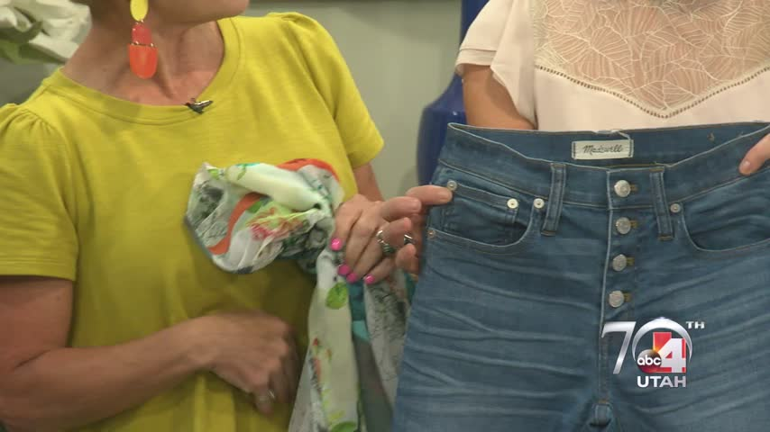 Jean styles for women over 50