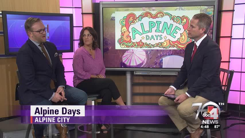 The Alpine Days Celebration Begins Next Week