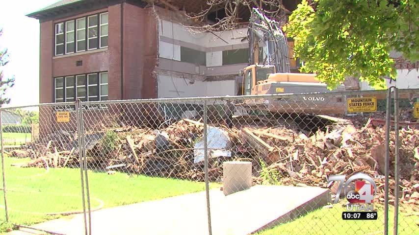 Bountiful School Demolished