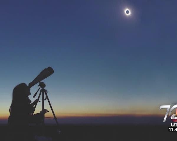 Solar eclipse is one week away