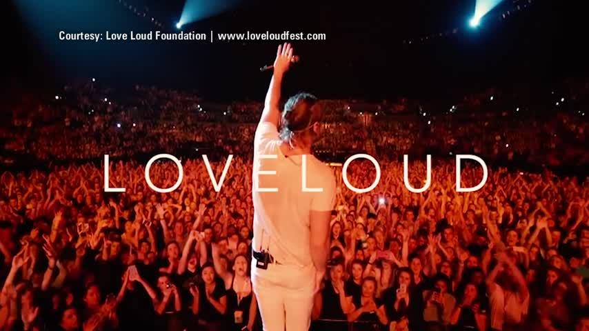 Dan Reynolds talks about LoveLoud Festival_90017919